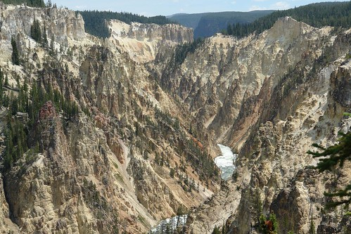 Grand Canyon of Yellowstone Park