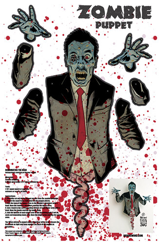 zombie.puppet.poster SD comic Con exclusive