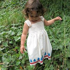 Raindrops dress