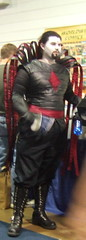 (David Glenn) Tags: comics costume cosplay xmen facepaint villain 2008 comicconvention comicbookconvention wizardworldchicago mistersinister