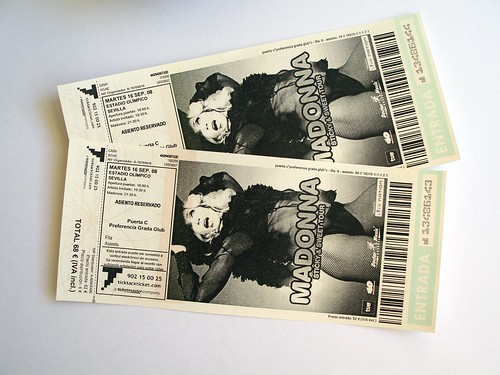 Madonna en Andalucía