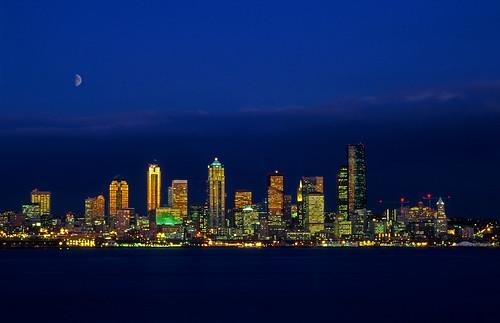 Seattle Skyline From West