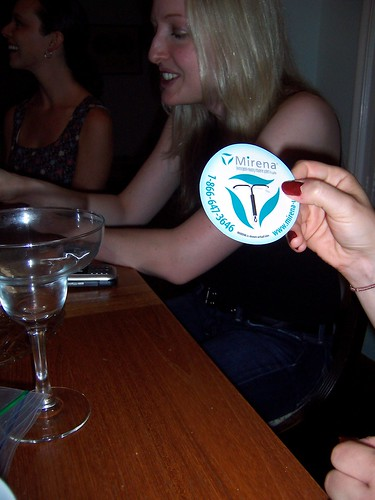 Silver IUD Pin...? by sinksanctity, on Flickr