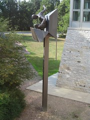 "<p>Title: ""Celebration""<br/>Sculptor: Paul Granlund<br/><br/>Accessible to Public: yes, outdoors<br/>Location: Dittman Center<br/>Ownership: St. Olaf College<br/>Medium: Bronze<br/>Dimension: 21 feet high<br/>Provenance: Gift of anonymous donor<br/>Year of Installation: 1982<br/>Physical Condition: Good</p>"