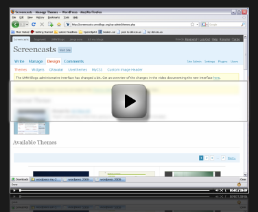Click on image above to view the screencast
