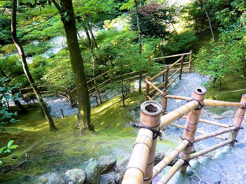 Stairway in the garden - Ginkakuji