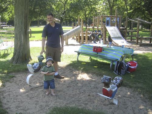 a playground stop
