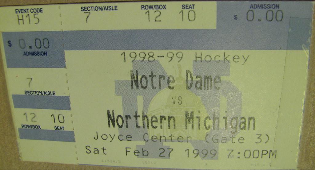 Notre Dame 2, Northern Michigan 1