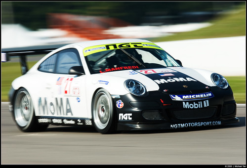 Friday practice: IMSA GT3 Cup (by Tanner.)