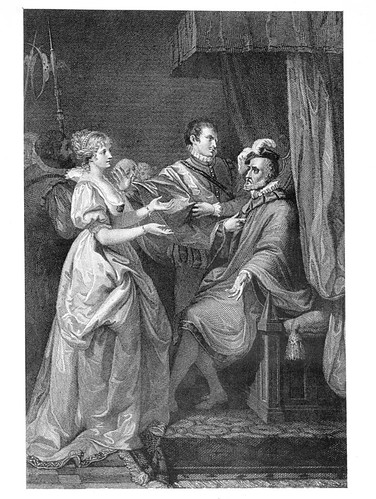 07 - A buen fin no hay mal principio- Act II Esc III- Paris. Palacio Real- Francis Wheatley