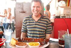 Nice Rack! (Joe Shlabotnik) Tags: food newyork dinosaur barbecue ribs syracuse 2008 faved justpeter august2008