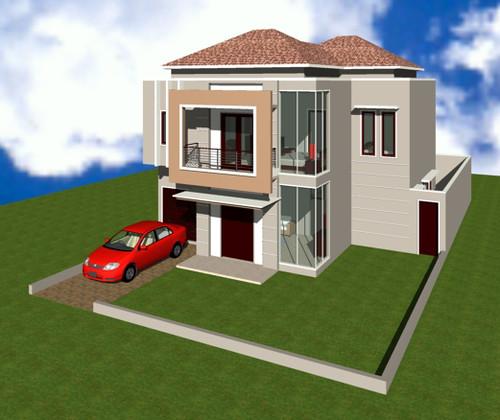 design sweet home desain rumah minimalis 2 lantai