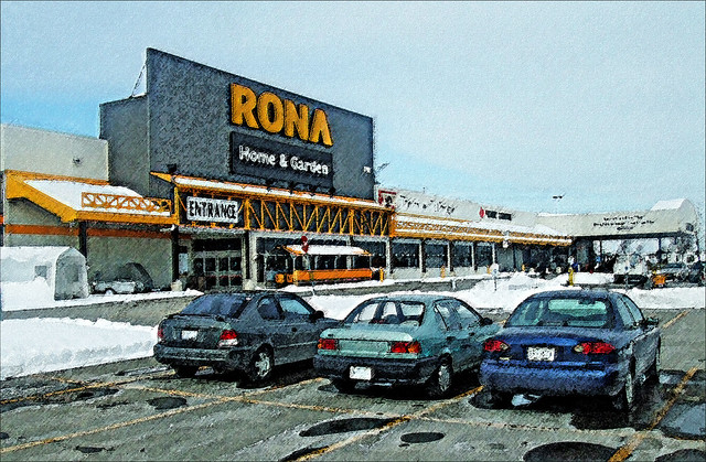 RONA  Proudly Canadian by bill barber