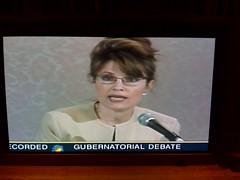 Sarah Palin in a gubernatorial debate