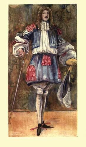 20- Vestimenta hombre epoca Carlos II (1660-1685)