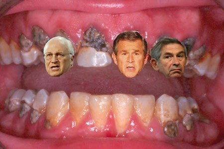 The Cheney Crowd are Cavities!