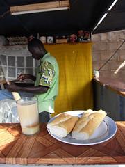 Gerne auch mit Brot serviert