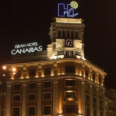 Rótulo Luminoso del Gran Hotel Canarias