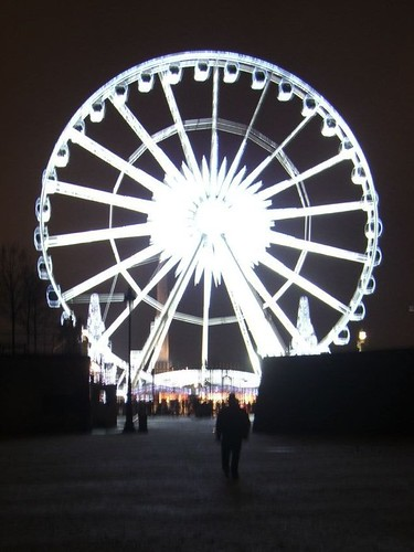 Big Wheel at the end of the Tuileries Garden