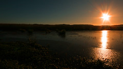 Ice on the Tay (Don Raider 68) Tags: winter sun ice canon river scotland landscapes frozen rivertay perthshire eos20d backwater errol sigma1020mm portallen