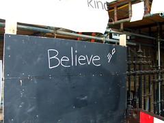Believe, East London, 2008