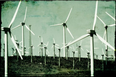 flirting with aeolus (slight clutter) Tags: california texture energy power wind palmsprings windmills alternativeenergy windpower palmdesert windenergy