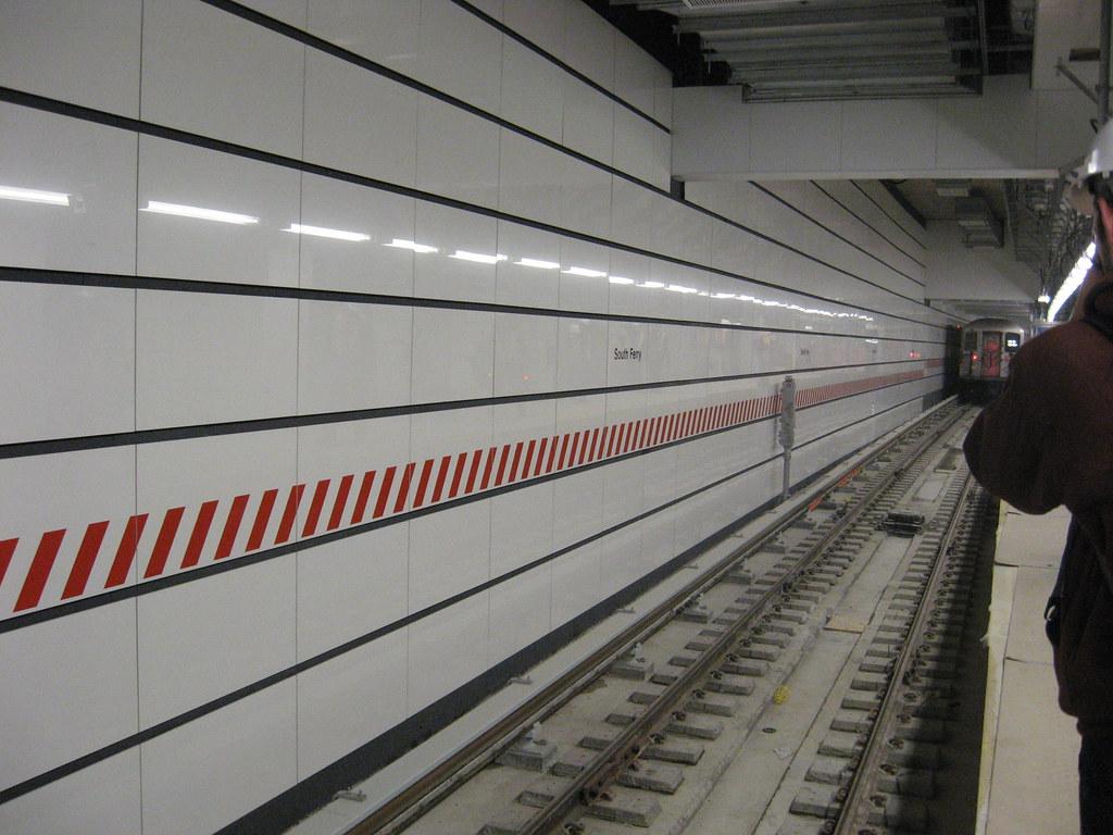 A Train Departs