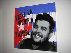 """hasta la victoria siempre (""""SINERO"""") Tags: art stencil paint cuba spray canvas revolution che guevara ernesto guerilla guerillero sinero"""