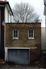 Garage (putonash) Tags: urban london face architecture arquitectura camden garage cara londres urbana garaje