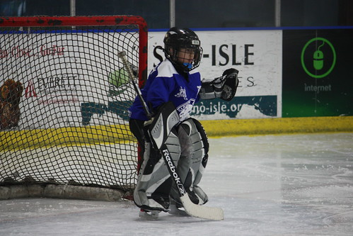 Yep Nik was to be the goalie for his Everett Youth Hockey team, ...
