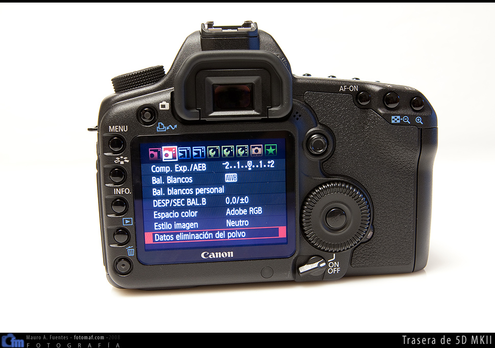 Ya disponible el firmware 2.0.3 para la Canon 5D MKII con 24 fps en vídeo
