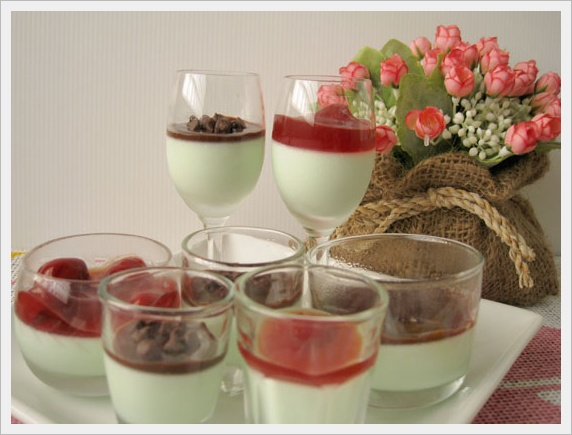 Mint Chocolate Chip Panna Cotta Recipes — Dishmaps