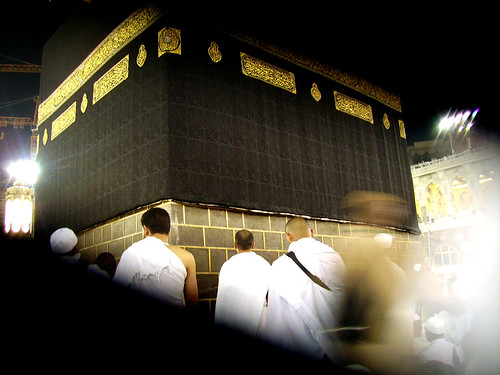 Close to the Holy Kaaba