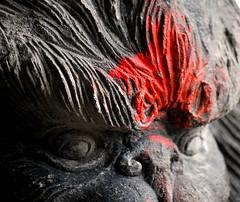 who shot the paintball (rwag115) Tags: winter red usa brown color animal statue orlando cool nikon florida kingdom disney waltdisneyworld walt picnik animalkingdom waltdisney thrillride nikond40x expeditoneverest