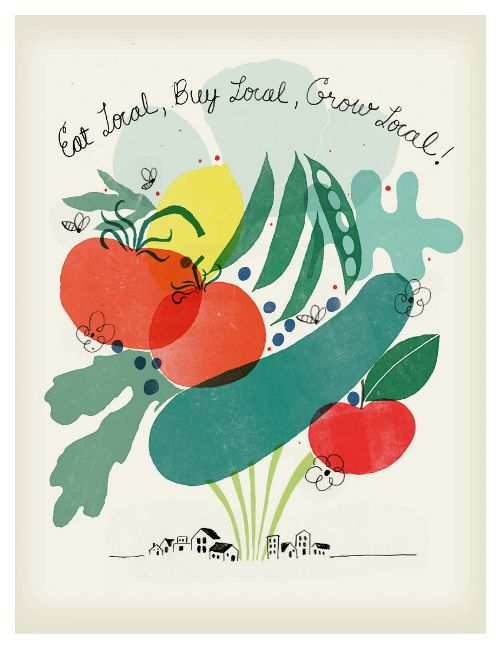 eat local poster - photo #25