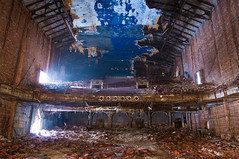 picture show (dropsheet) Tags: show light abandoned film rotting theater darkness decay picture movies