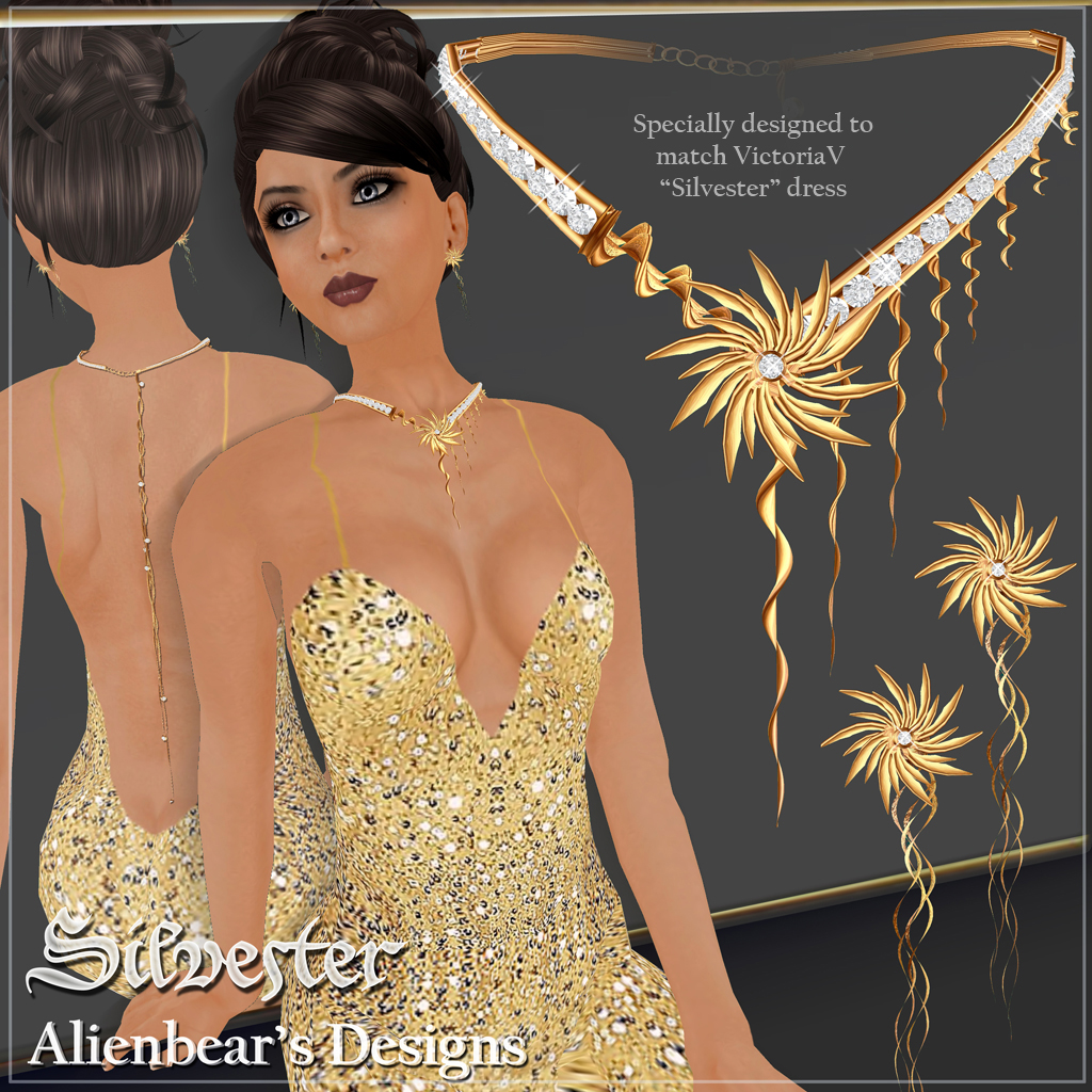 Silverster gold set