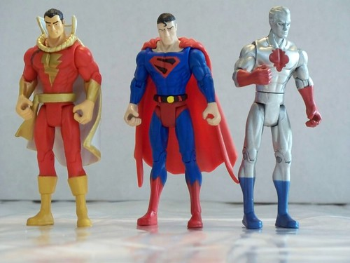 Captain Marvel, Superman and Captain Atom