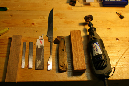 Knife Making Amp Repair 1 Replacing A Kitchen Knife Handle