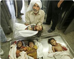 Slain Gaza children.jpg by yasmin the storyteller.