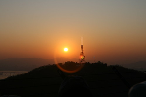 Sunrise on Namsan
