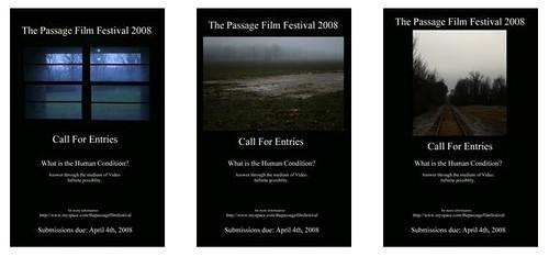 le passage film festival, affiches 2008