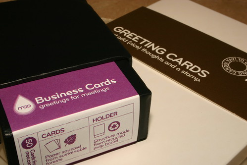 Calling Cards and Greeting Cards from Moo.com
