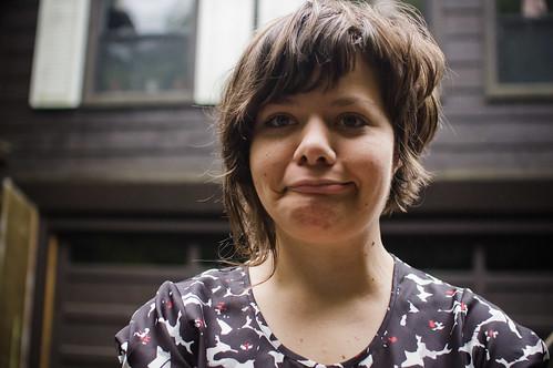 "Kristina Pedersen (""stroke face"")"