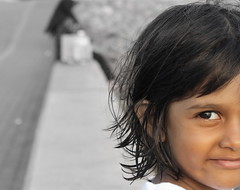 Smiling innocently (shuhad) Tags: smiling canon child innocent daughter maldivian 1000d