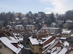 Houses covered with snow, Bern (tommy_88z) Tags: christmas light france french bread cuisine switzerland geneve wine lyon swiss zurich bern suiss zelmat