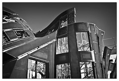 Lou Ruvo Brain Institute No. 5 (gmeadows1) Tags: blackandwhite architecture construction lasvegas gehry frankgehry louruvobraininstitute