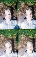 Sampling Some Action 2 (SB!) Tags: flowers summer sun sunshine daisies hair four lomo lomography long 4 quad blonde actionsampler tych thevirginsuicides