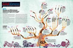 Quais so as difrenas entre os tipos de ioga? (Gabriel Gianordoli) Tags: tree yoga magazine design graphic editorial information infographic