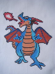 Dragonlord (final form) (benjibot) Tags: crossstitch crafts videogames nes dragonwarrior dragonlord
